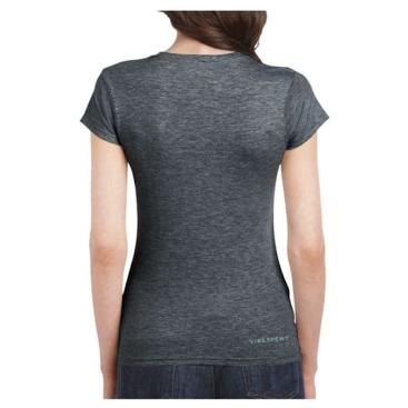 Ladies-Flower-Shirt-Grey-back