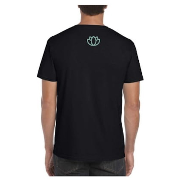 Mens-Log-Shirt-Black-Front