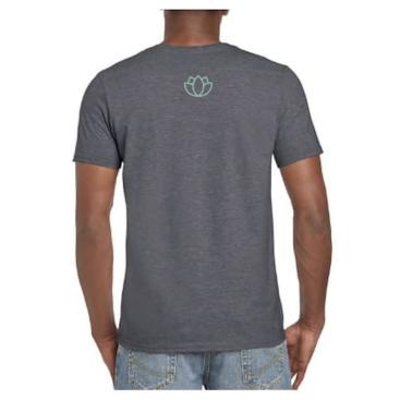 Mens-Logo-Shirt-Grey-Back