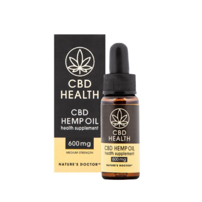 CBD Hemp Oil Medium (600mg) – BIOTECHNOLOGIES