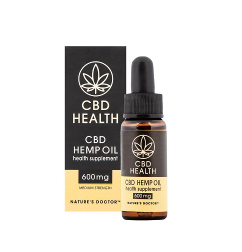 CBD Hemp Oil Medium (600mg) - BIOTECHNOLOGIES
