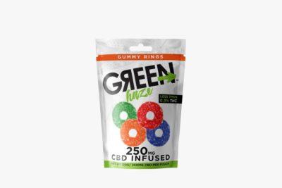 Wild Hemp Gummy Rings CBD Infused 25MG