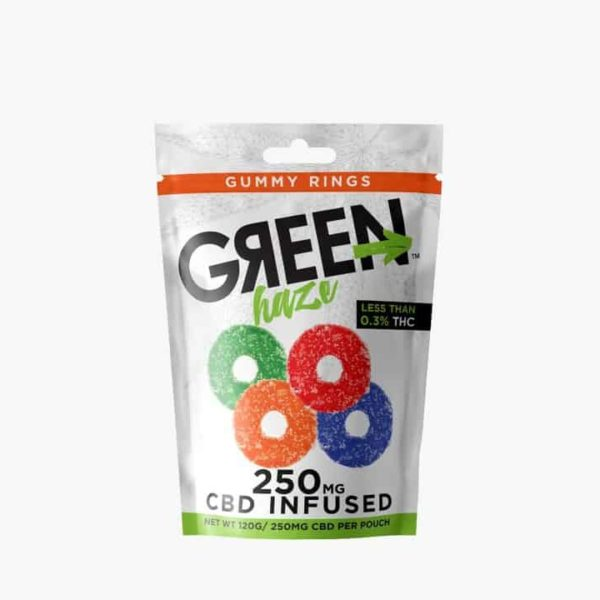 Wild Hemp Gummy Rings CBD Infused 25MG
