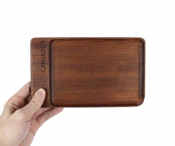Cannador® Mahogany Roll Tray